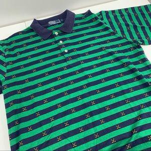 Polo Ralph Lauren Cross sticks striped shirt